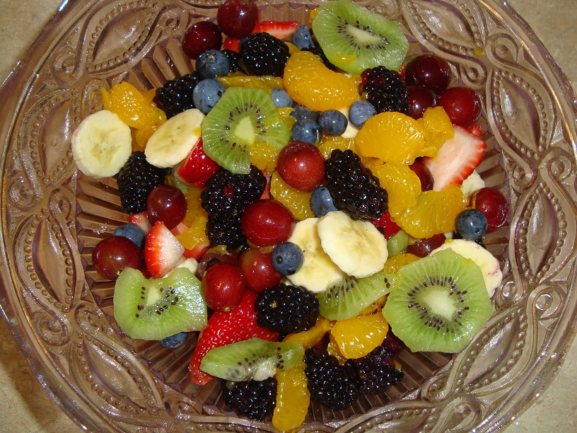 Healthy Snack Tip Fresh Fruit Bowl