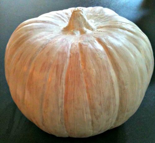 Pumpkin + Gesso