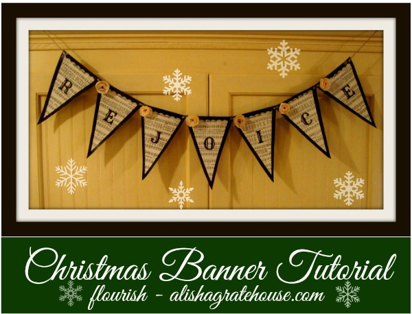 Christmas Banner Tutorial