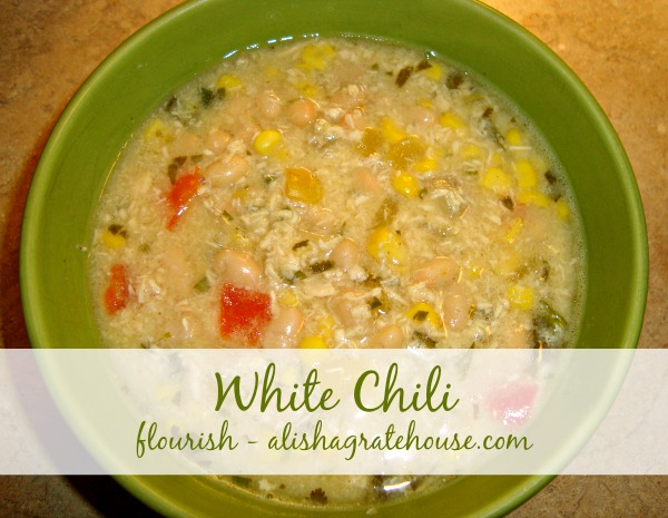 Healthy Crock Pot White Chicken Chili with a Salsa Verde twist! This easy comforting soup is filled with flavor, less than calories a serving and guaranteed to be a favorite!Total Time: hrs 35 mins.