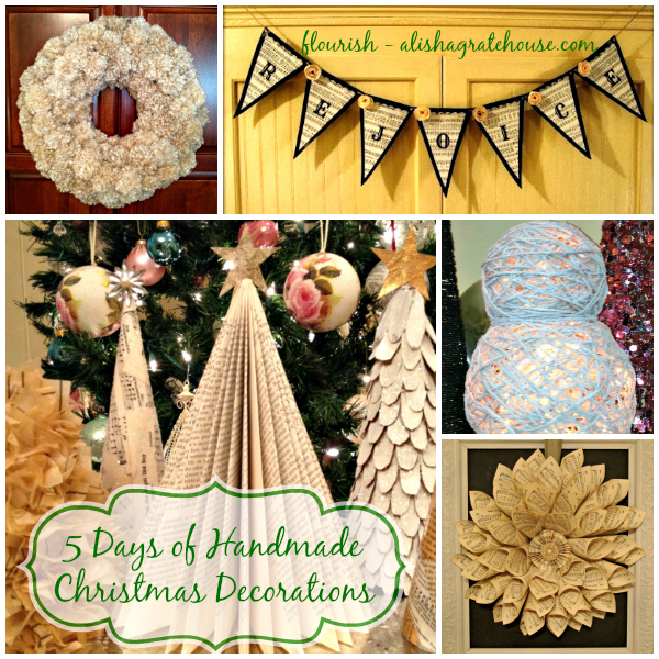 Old Fashioned Christmas Decorations handmade christmas decorations
