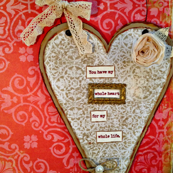 whole heart wall hanging