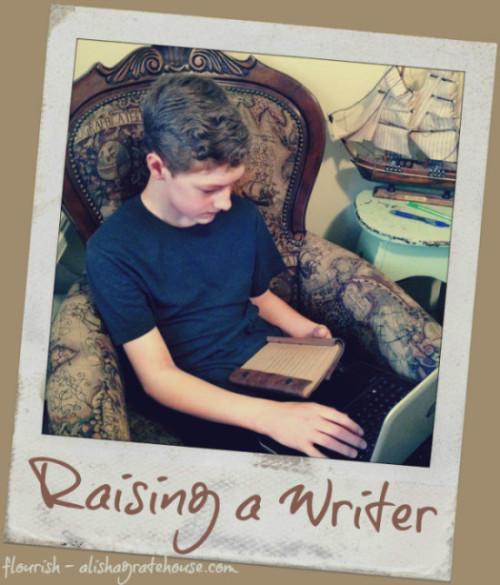 Raising a Writer