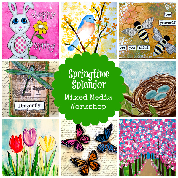 Springtime Splendor Collage - 600