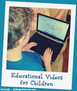 Educational Videos for Children   Flourish   alishagratehouse.com