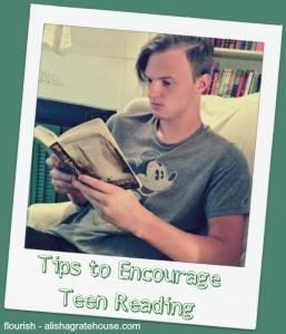 Encourage Teen Reading