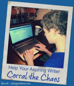Help Your Aspiring Writer Corral the Chaos