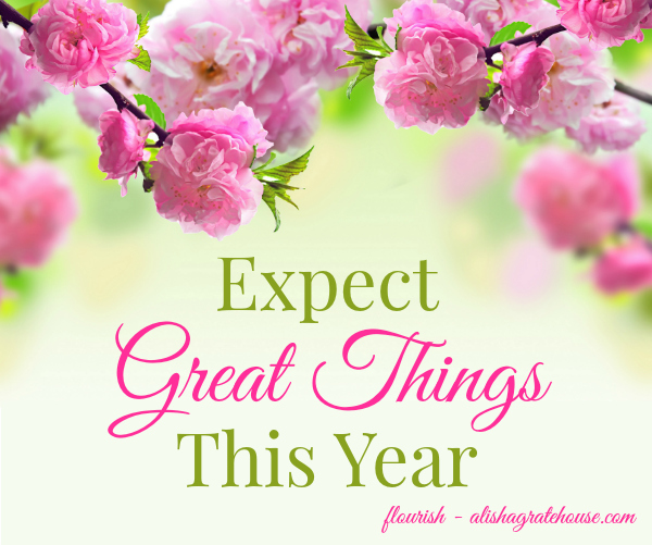 expect great things this year