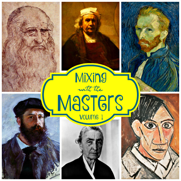 Homeschool Art & Art Appreciation | Mixing with the Masters | alishagratehouse.com