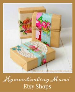 Homeschooling Moms' Etsy Shops