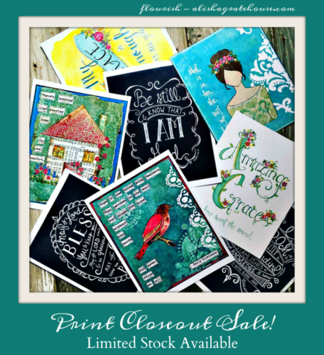 Print Closeout Sale – Limited Stock Available