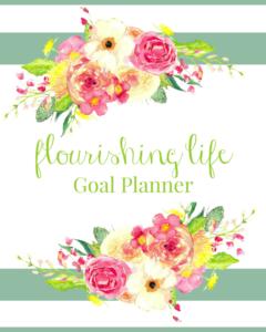 "Introducing the ""Flourishing Life"" Goal Planner"