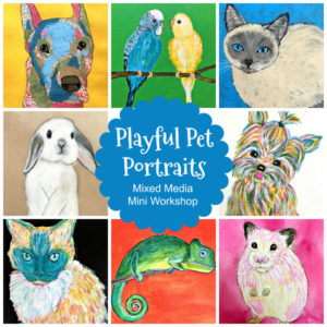 Playful Pet Portraits: A New Art Course for Your Family