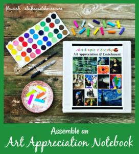 Assemble an Art Appreciation Notebook