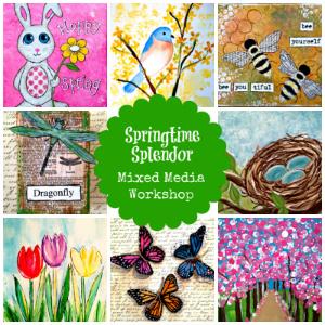 Springtime Splendor: Mixed Media Workshop